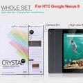 Для HTC Google Nexus 9 Nillkin Super Clear Анти-отпечатков пальцев Защитная Пленка для htc Nexus 9 бесплатная доставка