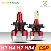 Super Bright H7 Led Lamp H1 H3 H4 H8 H11 9005HB3 9006HB4 bulbs 70W12000LM 6500K CSP CHIP Mini Size Car Headlight
