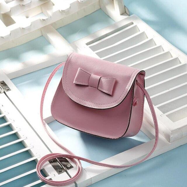QZH New Fashion Mini PU Leather Women Crossbody Bag Summer Girl Princess Messenger  Bags Ladies Shoulder 72f7e0a437e57