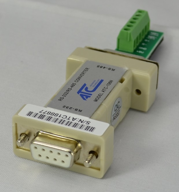 ATC-106N Passive RS-232 To RS-485 Interface Converter (six Bit Terminal)
