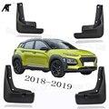 Черные передние и задние брызговики  Накладка для Hyundai Kona Encino Kauai SUV 2017 2018-2020