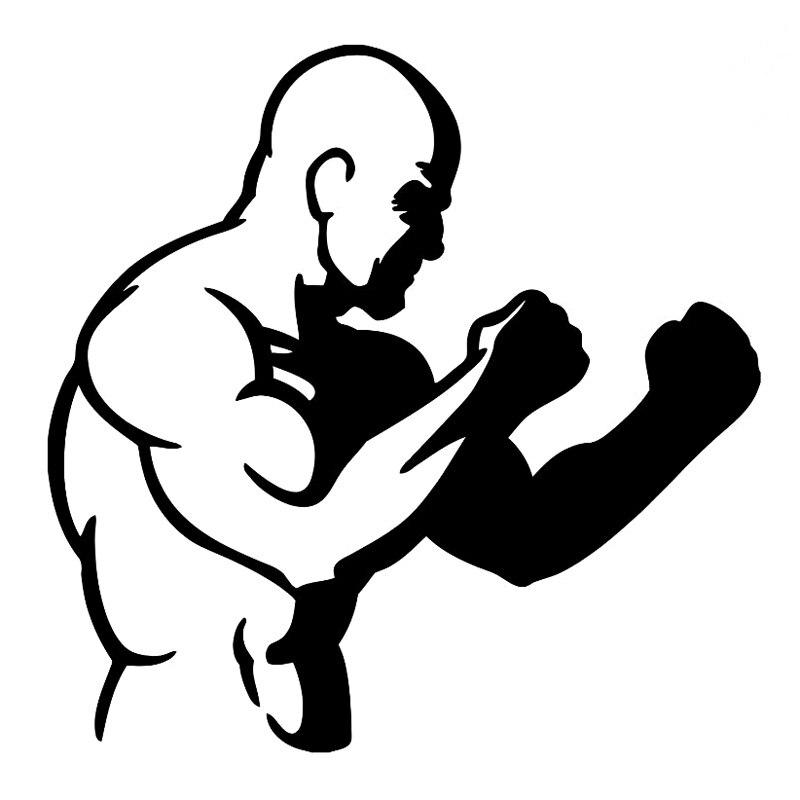Рисунки бойцы мма