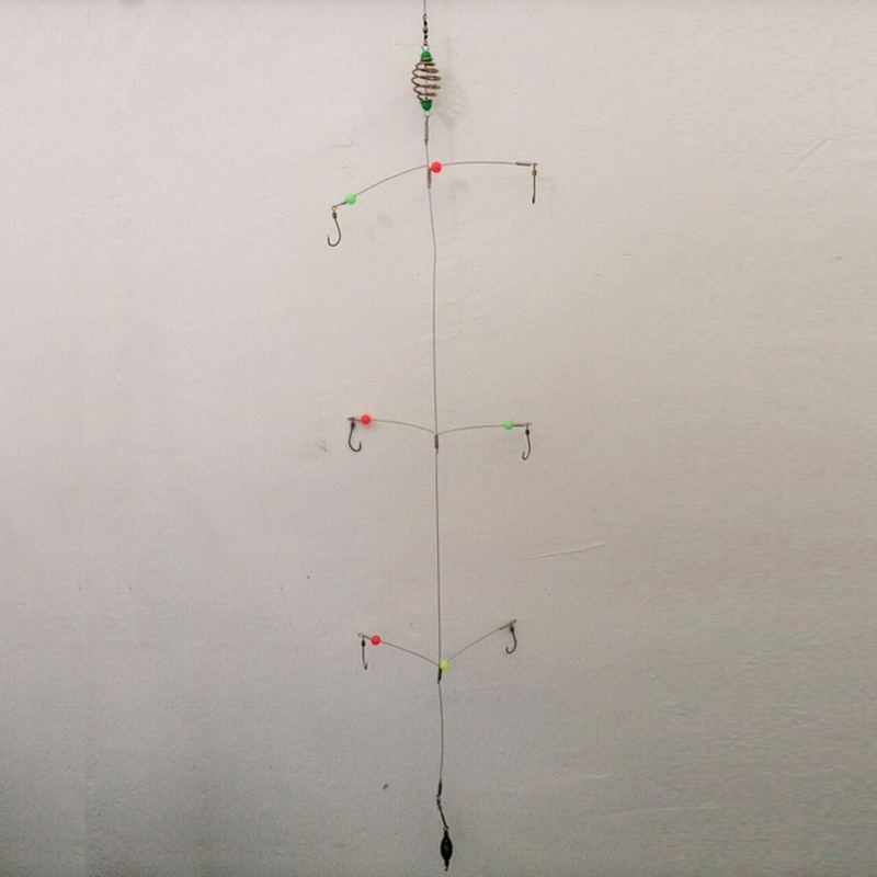 Con el gancho de hilo tipo barra de polo de línea de línea, nuevo tipo de gancho de prevención de explosión de bobina, gancho de pez monstruo I
