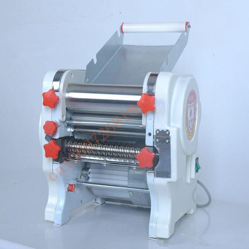 220V Automatic Electric Noodles Maker Household Dough Pressing Machine Dumpling Wonton Skin Maker Machine EU/AU/UK/US Plug high quality household manual hand dumpling maker mini press dough jiaozi momo making machine