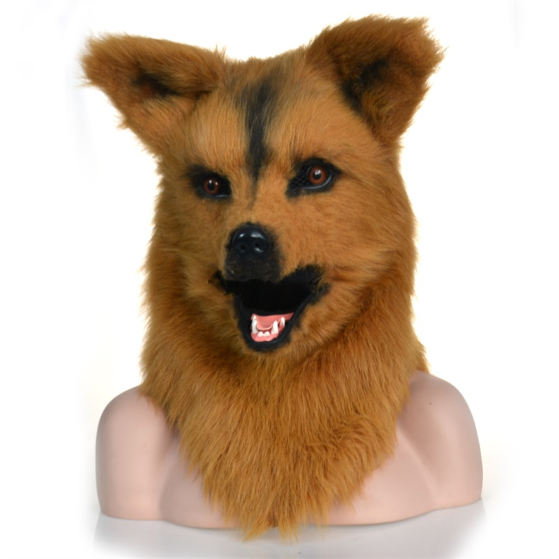 Wolf moving mouth mask with mover mouth wholesale mask export import manufacture factory