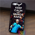 keep calm and vamos rafa Rafael Nadal 7 fashion cell phone case for iphone 4 4s 5 5s 5c SE 6 6s 6 plus 6s plus 7 7plus #ey368