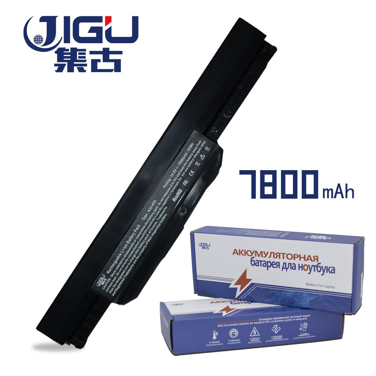 JIGU 7800 MAH Laptop Battery A32-K53 For Asus A43 A43E A53S K43E K43U K43S K43SJ K53 K53T K53S K53SV X54 X54H X44H