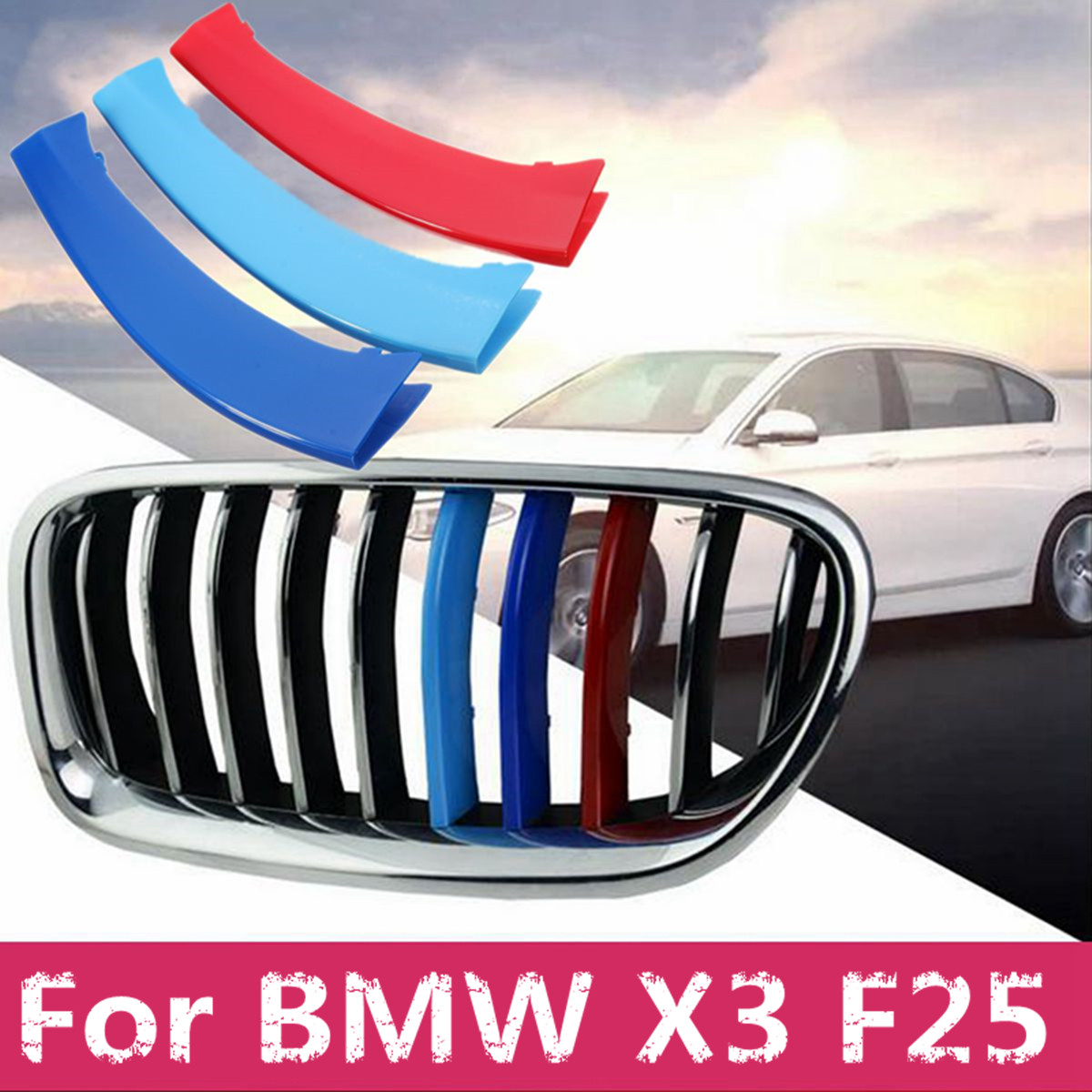 Inner Front Reading Light Lamp Cover Trim For Bmw X3 F25 2011-2015 1pcs Automobiles & Motorcycles