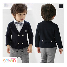Kids/Children Formal Boys Wedding/Tuxedo Suits Boy Blazer Suit Mariages/Perform Dress Costume Infants Blazer 3 pcs/set Boy dress