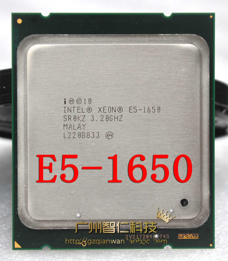 Intel Xeon E5 1650 3.2GHz 6 Core 12Mb Cache Socket 2011 CPU Processor SR0KZ