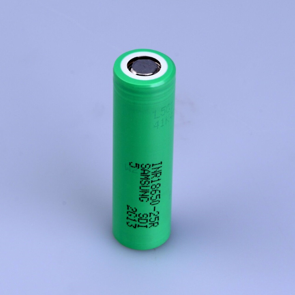 For <font><b>SAMSUNG</b></font> INR <font><b>18650</b></font> - <font><b>25R</b></font> 3.6V 3.7V 2500mAh Lithium ion Li-ion Rechargeable chargeable Batteries cell image