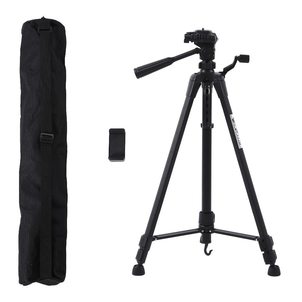 Profesional Camera Tripod Stand For Canon Nikon Sony DSLR Camera Camcorder Tripod For Phone Camera Max 140CM