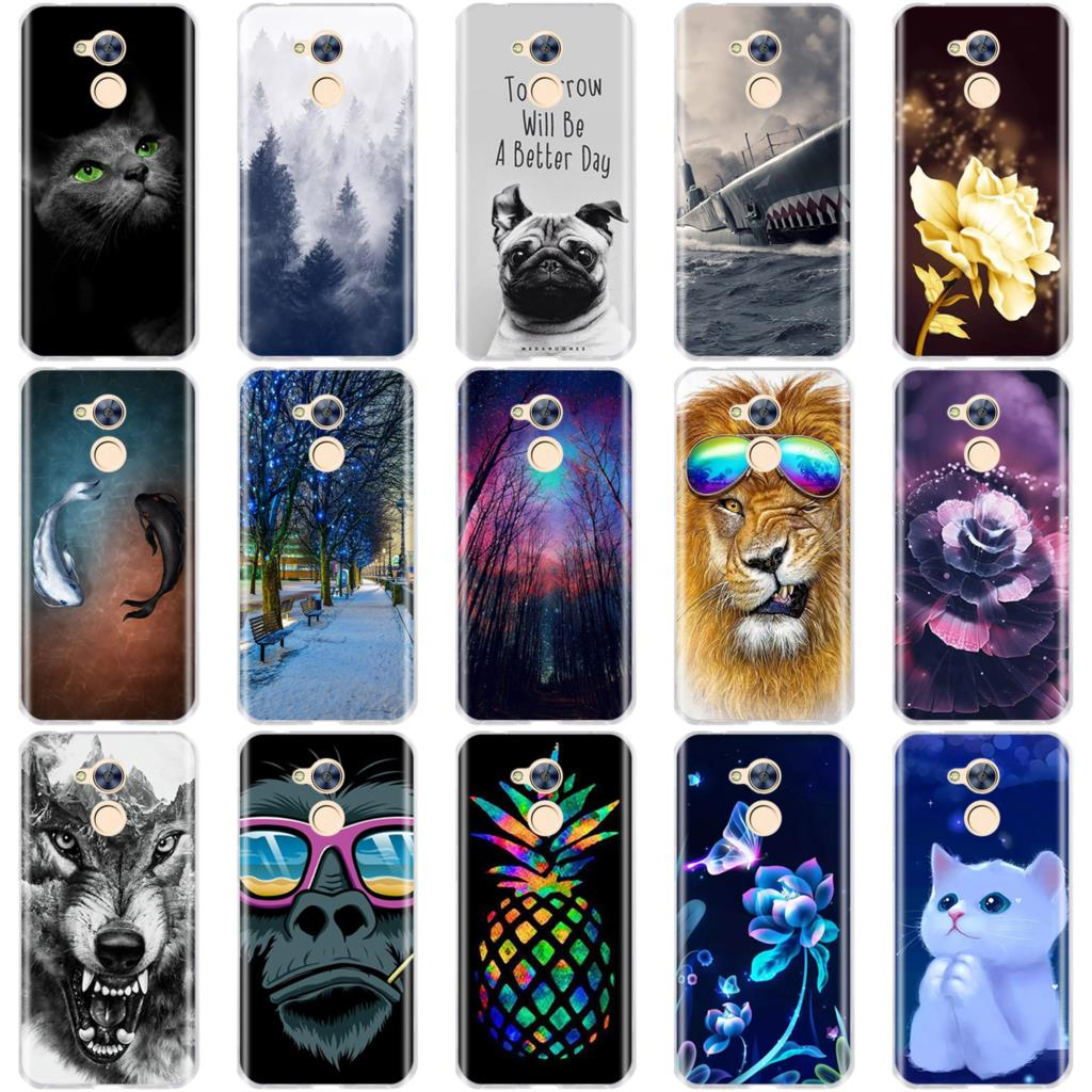 For Huawei Honor 5A 6A Case Soft Silicon TPU Back Cover 3D Pattern Bag For Huawei Honor 8 Lite Case For Honor 5A 6A Phone Cases
