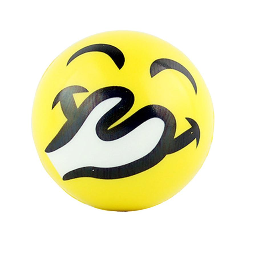 Solid Pressure Fast Rebound Stress Reliever Ball Fun Relieve Stress Cure Toy Z823