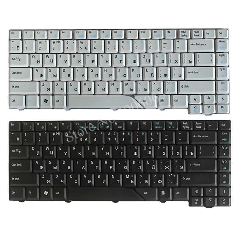 מקלדת רוסית עבור Acer Aspire 5715 5715Z 5720G 5720Z 5720ZG 5910G 5920G 5920ZG 5950G RU שחור /לבן מחשב נייד מקלדת