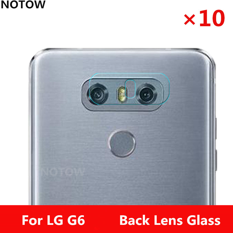 NOTOW10pcs/lot flexible Rear Transparent Camera Lens Tempered Glass Film Protector For LG G6 G600S H870 H870K for LG G6plus