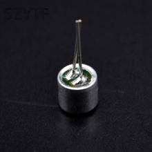 50pcs/bag 6 * 5mm electret  microphone condenser 52DB with  2pin