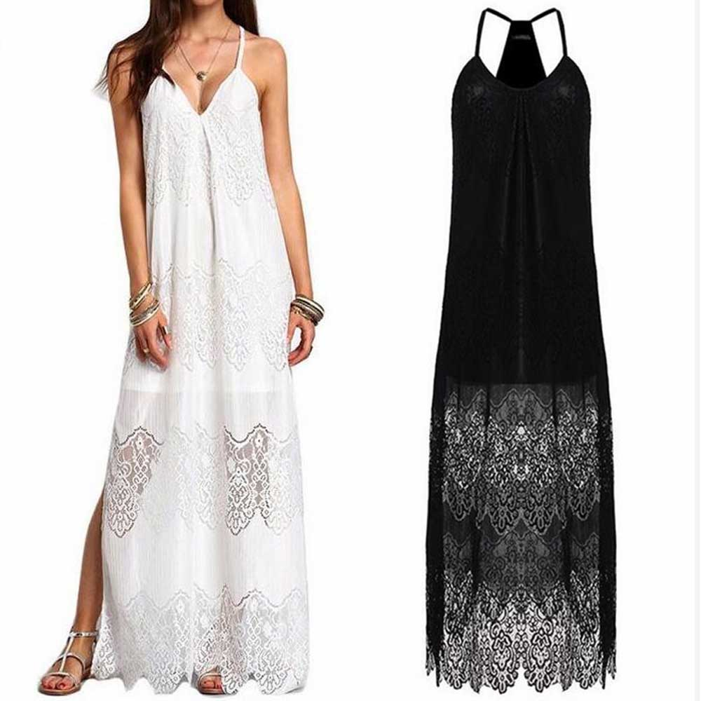 2018 Women Lace Dress Beach Cover Up Swimwear robe de plage Bathing Suit Cover Ups saida de praia Bikini Beachwear C1732