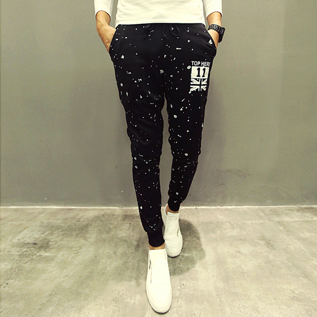 Wholesale New Fashion Printing Mens Sweatpants Joggers Men Pants Harem Pants For Men Outdoors Casual  Pants Pantalon Homme
