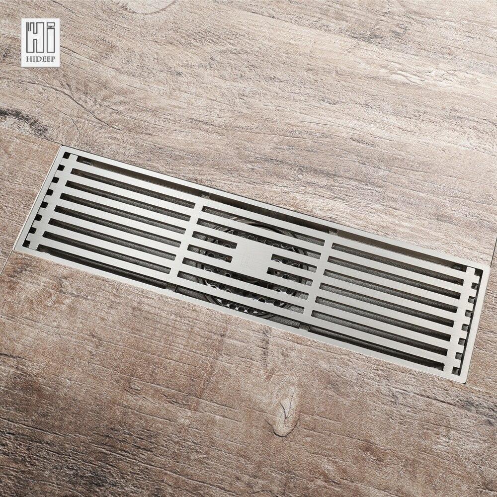HIDEEP laiton Anti odeur sol Drain cuisine évier crépine classique Drains douche pour famille salle de bains sol Drains douche