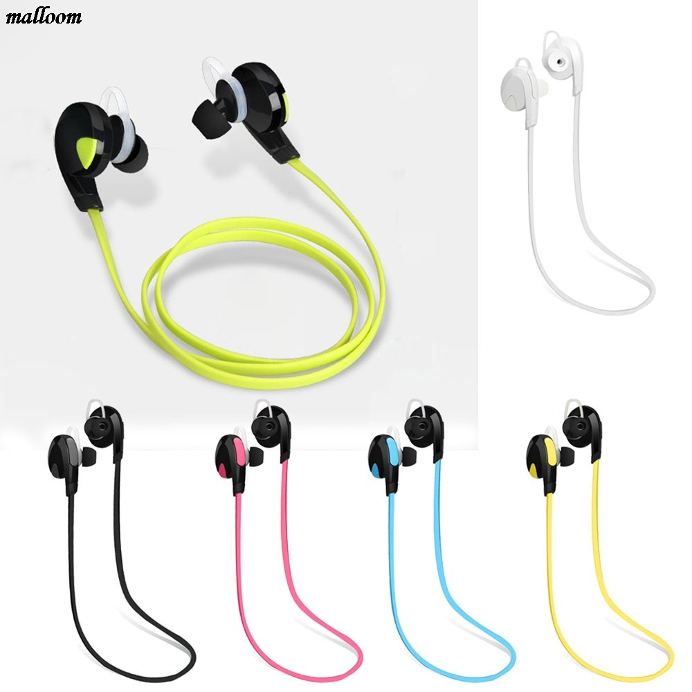 Brand New Stereo Bluetooth Earphone Wireless Handfree Earset Stereo Earphone Sport Universal For All Phone Noise Cancelling 5 pcs 5 pins white led lamp latching rectangular push button switch dc 12v