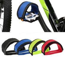 1 шт. велосипедная фиксированная Шестерня велосипедные педали полосы Набор для ног с ремнями луч для ног Велоспорт велосипед противоскользящие велосипедные педали ремень