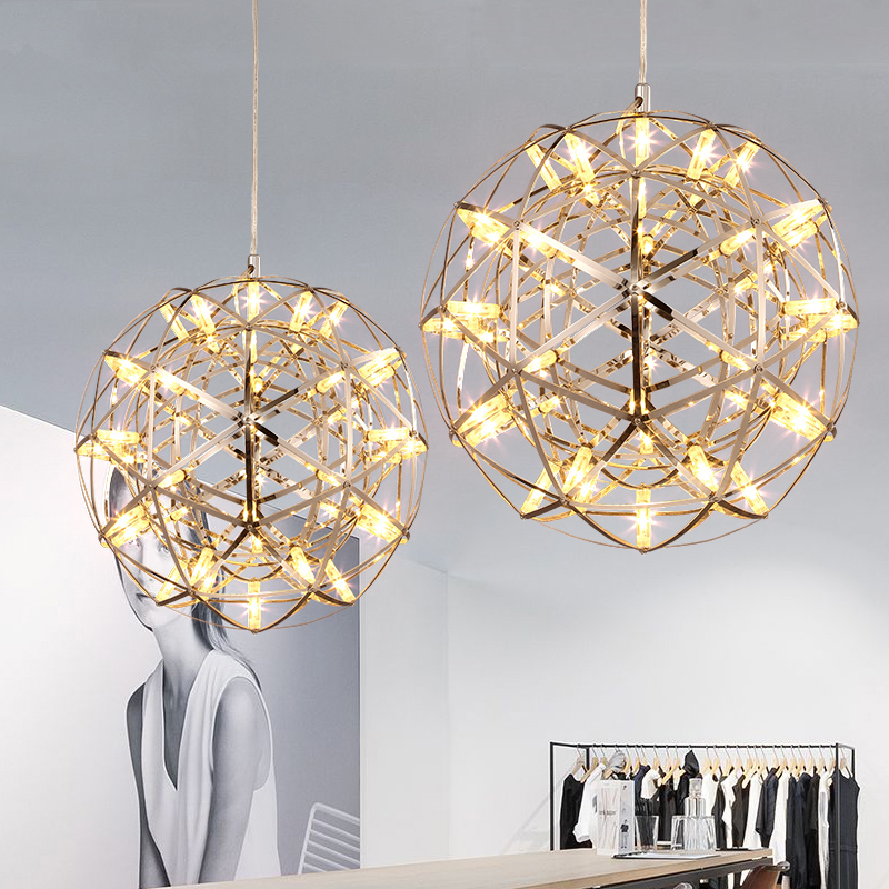Post-modern creative living room chandeliers lighting hotel restaurant bedroom led stars Pendant lamps hanging lights цена и фото