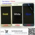 Оригинальный Синий/Белый/Золото Сенсорный Экран сенсорный Дигитайзер + ЖК-дисплей с рамкой Для huawei honor 8 honor8 с отслеживанием нет.