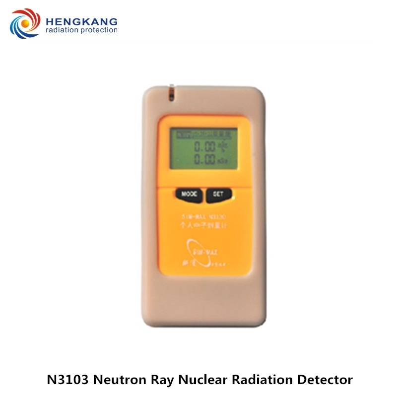Recommend N3130 High Sensitivity Neutron Radiation Dosimeter Handheld Personal Neutron Ray Nuclear Radiation Detector