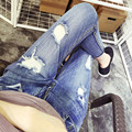 Envío gratis 2016 del resorte nuevas mujeres de gran tamaño de la tobillo-longitud mediados de cintura sueltos pantalones harén