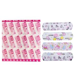Image 5 - 50Pcs Impermeabile Bende di Primo Soccorso Emostasi Cerotto Adesivi Cute Cartoon Gesso Medica Ferita Patch Kit Di Emergenza C1204
