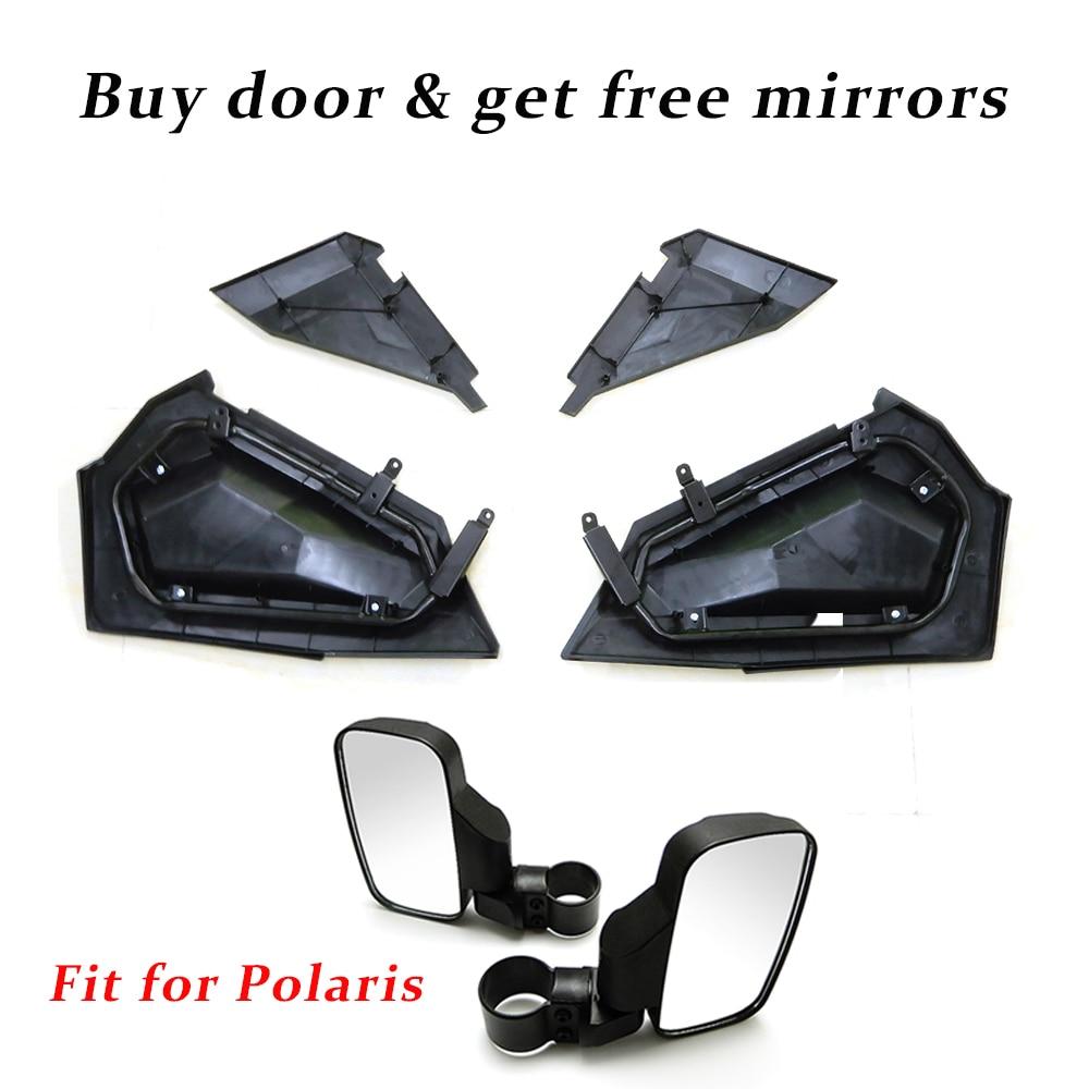 KEMiMOTO нижней двери Панель вставки для Polaris RZR XP S Turbo 1000 2879509 RZR XP 1000 RZR S 900 1000 2016 заднего вида боковые зеркала