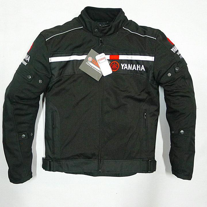 цена на 2017 Summer Motorcycle Mesh Black Jacket For YAMAHA Bike Race Thermal Jackets Removable Liner Clothing