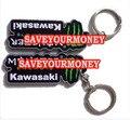 Мотоциклы аксессуары пвх резиновые брелок брелоки цепи для KAWASAKI ZX6R zx9r ниндзя все годы бесплатная доставка