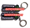 Motorcycles accessories PVC Rubber Keyring Keychain Key rings chains For KAWASAKI ZX6R zx9r ninja all years Free Shipping