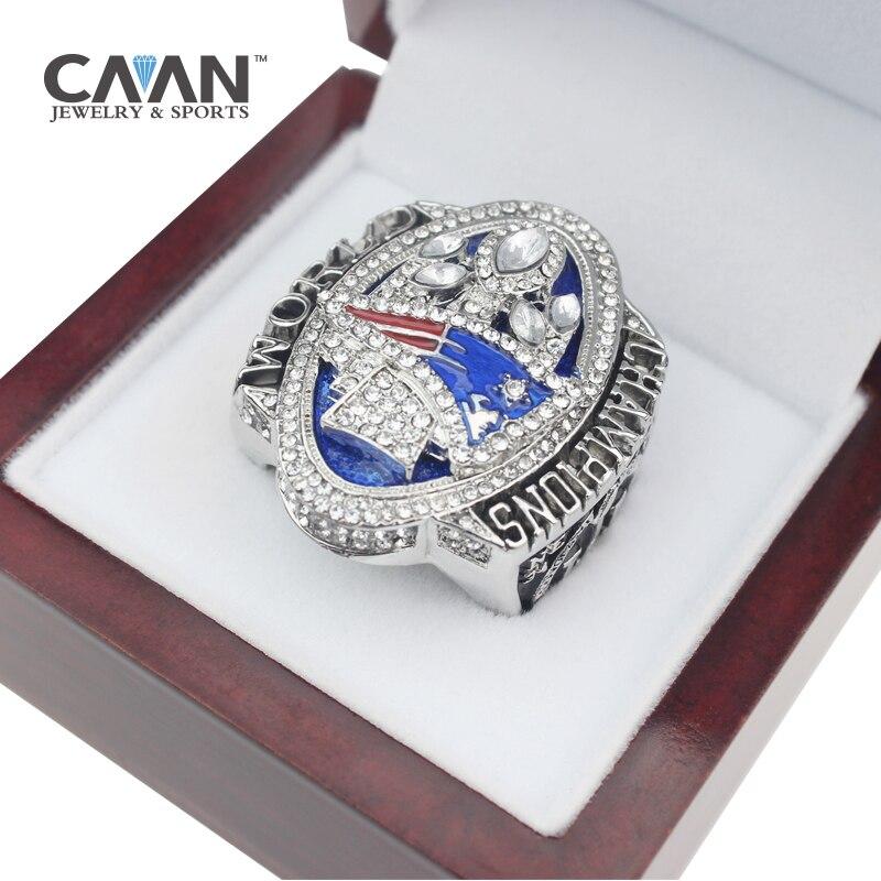 Il Più Nuovo rilascio Ufficiale di 2017 New England Patriots MVP BRADY Campionato Del Mondo Ring Size 8 9 10 11 12 13