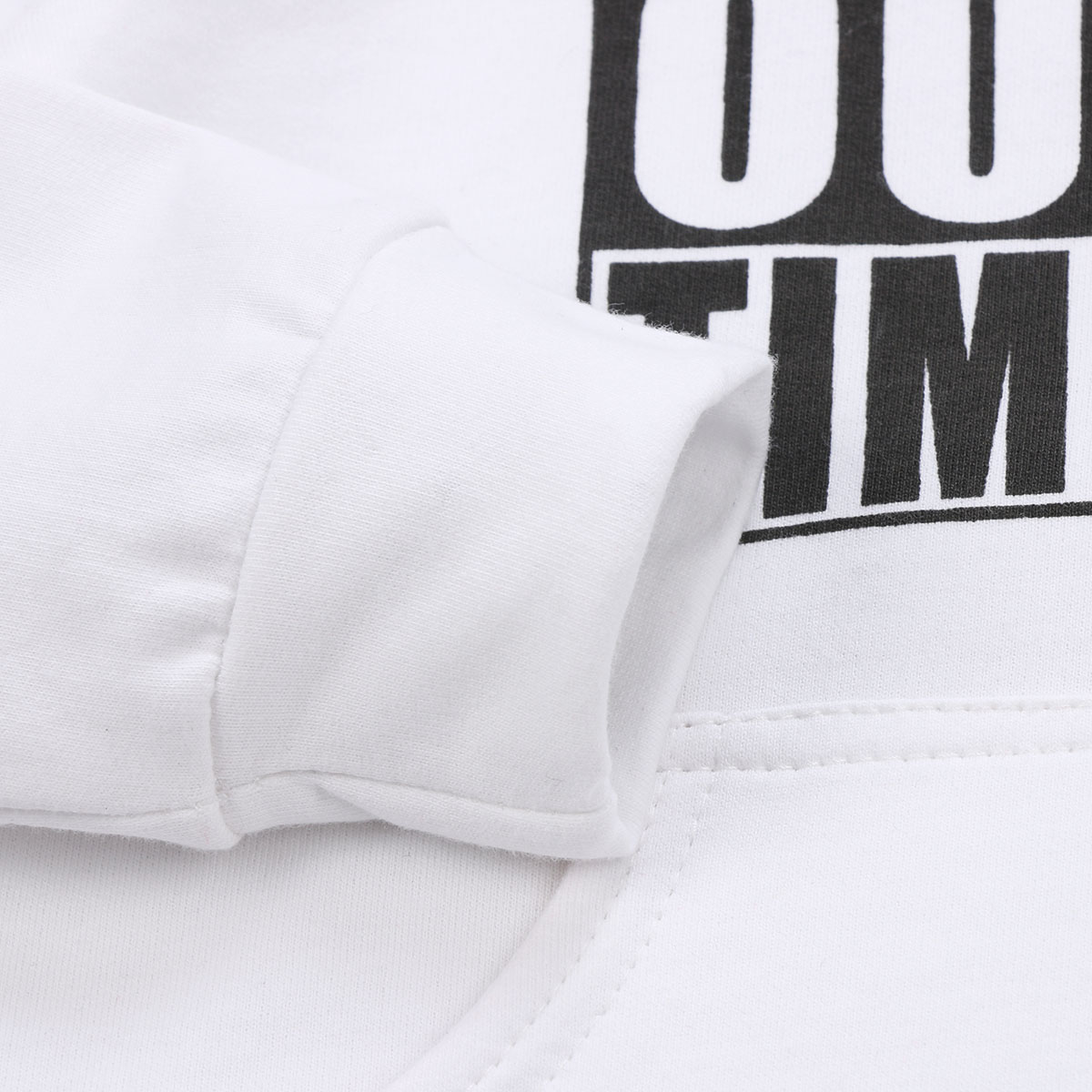Pudcoco Casual Letter Sweatshirt Toddler Baby Clothes Infant Kid Boy Girl Hoodies Cotton Blend Pullover Sweatshirt Outdoor NEW