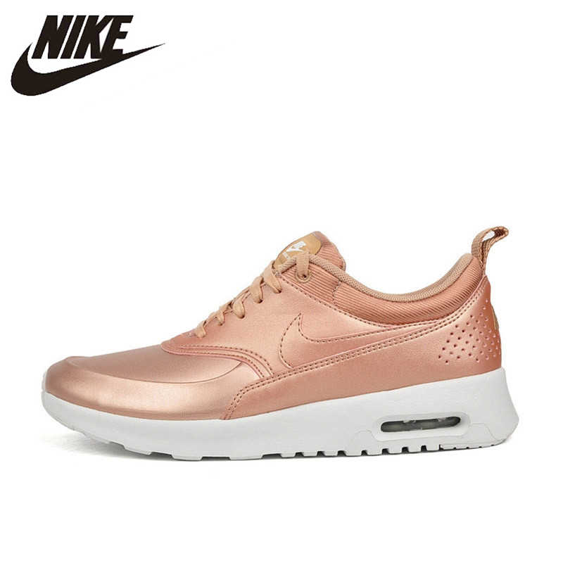 best service f65eb 100cf Nike Original New Arrival Authentic Air Max Thea SE Leather-made Waterproof Women s  Running Shoes
