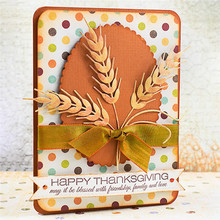 EastShape Wheat Metal Cutting Dies New 2019 Barley Plant Scrapbooking for Card Making Album Stencil Crafts Die Cut