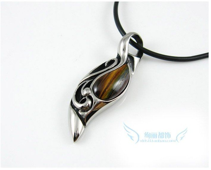 Natural black onyx tiger eye taiyangzhilei pendants men s natural black onyx tiger eye taiyangzhilei pendants men s titanium steel necklace europe and the united states retro pendant in necklaces from jewelry mozeypictures Image collections