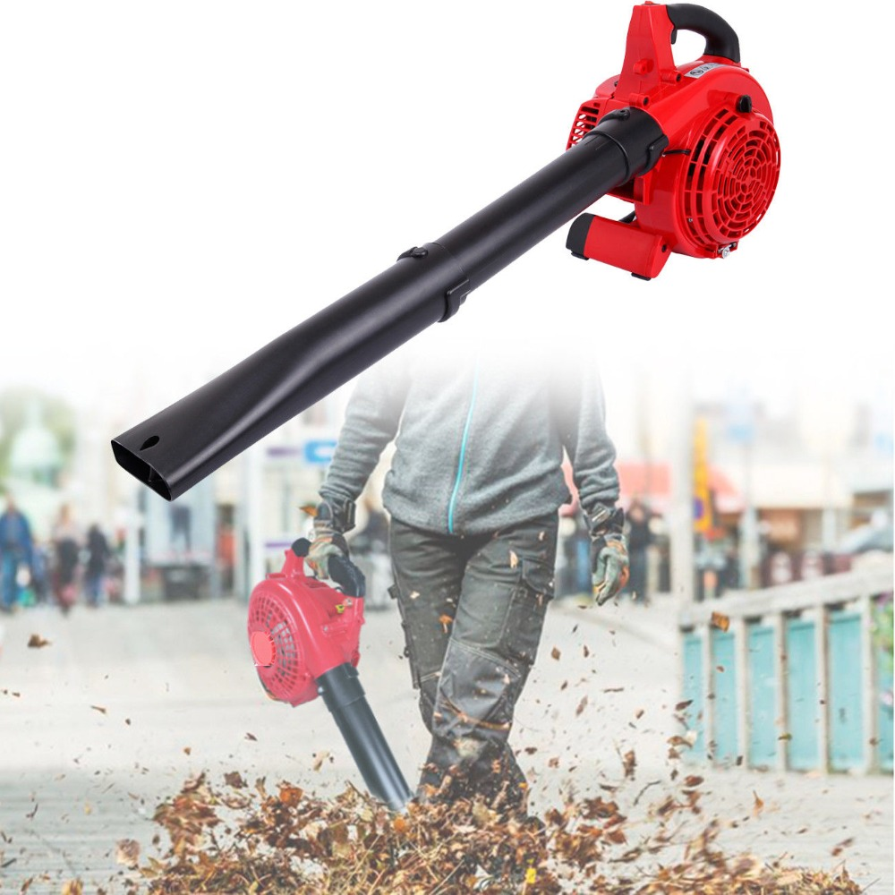 25cc 2 Stroke Handheld Garden Yard Gas Petrol Leaf Blower Vacuum Power 400CFM