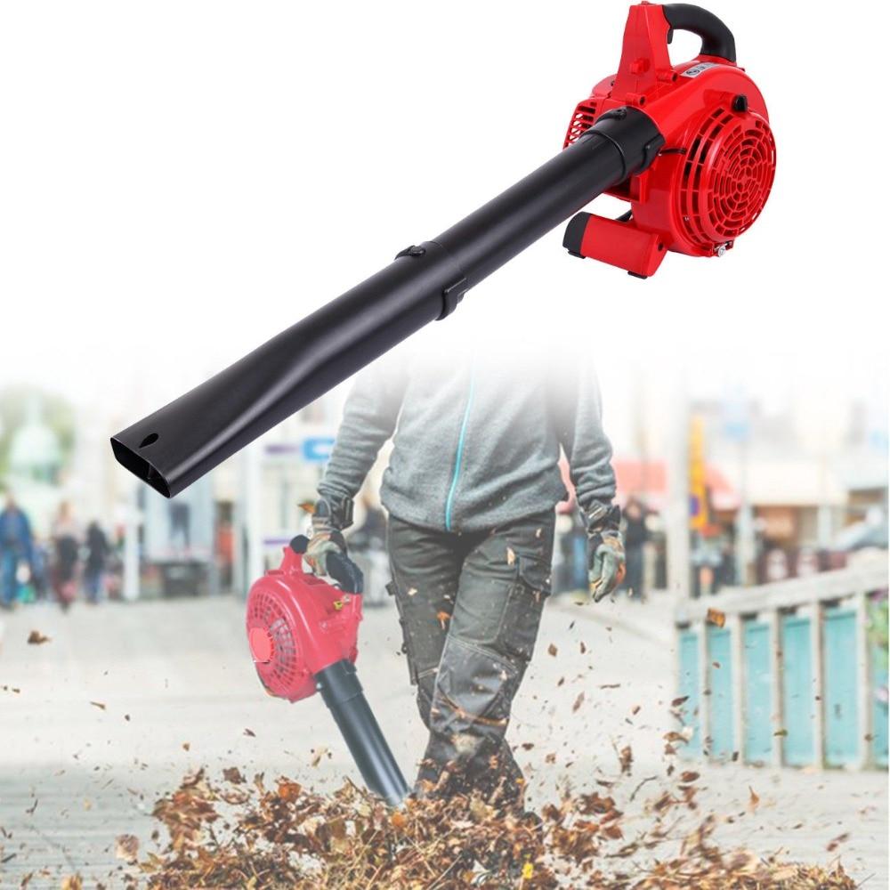 25cc 2 Stroke Handheld Garden Yard Gas Petrol Leaf Blower Vacuum Power 400CFM