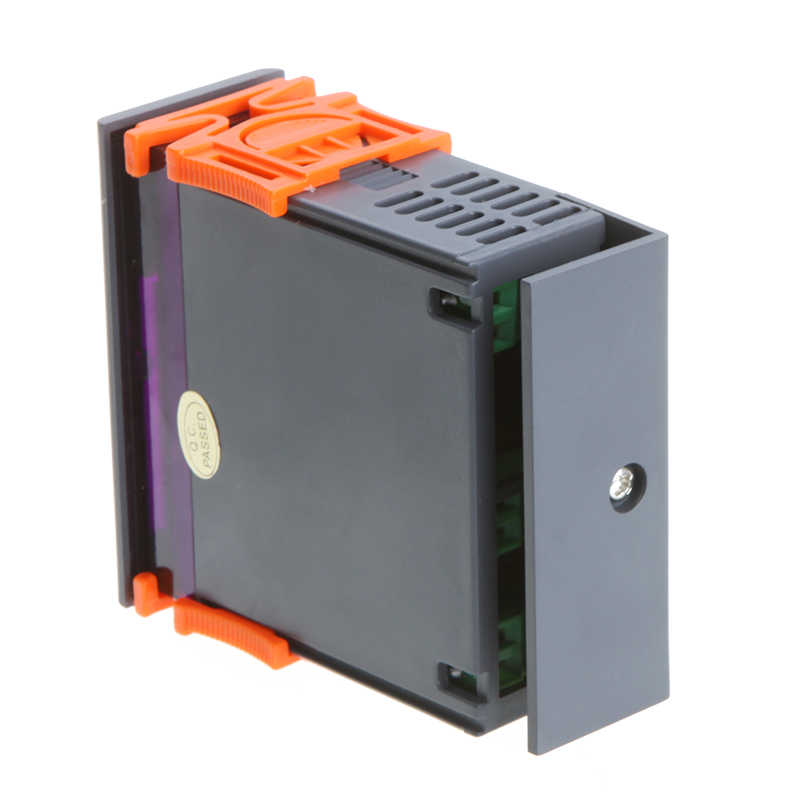 Цифровой регулятор температуры мини Термостат тепловой регулятор термопары-40 до 120 градусов с функцией сигнализации 10A 220 В