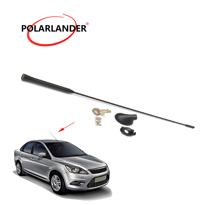 Antenna For Ford/Focus 2000-2007 Mast Auto Black with Base Kit Aerial Car Roof