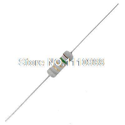 500 x 1W Watt 1R5 1.5 Ohms OHM 5% Carbon Film Resistors resistor watt resistor 1w resistor 1 watt - title=