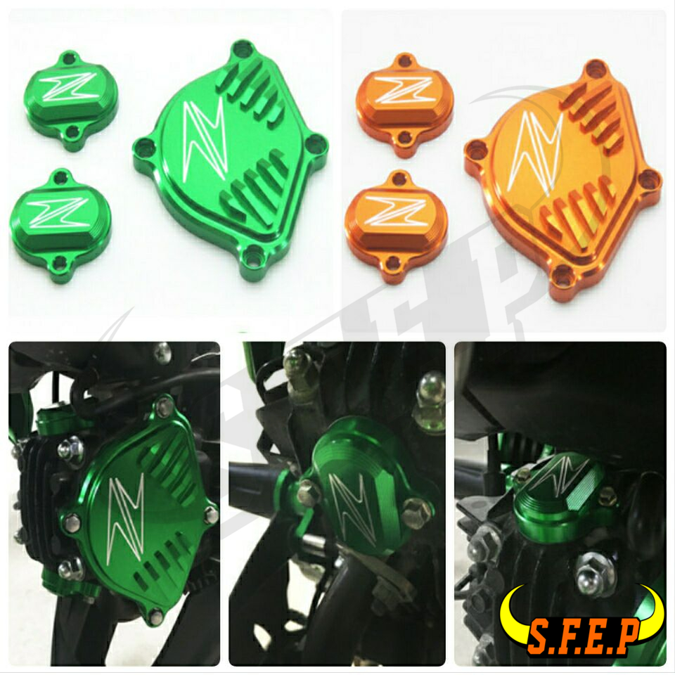 Motorcycle Engine Cam Head Cover Fit For Kawasaki Z125 Z125Pro 2015 2016 2017