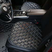 PU Leather Crystal Diamond Car Seat Cushion Covers For Women