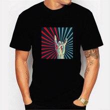 53841549eddbd ACDC Rock Band T Shirt femmes hommes Rock and Roll Harajuku Streetwear t- shirt Sweat