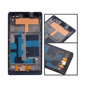 """Image 2 - 5.5 """"đối với Sony Xperia C3 d2533 d2502 với khung khung MÀN HÌNH LCD hiển thị với digitizer cảm ứng lắp ráp cảm biến + Miễn Phí Vận chuyển"""
