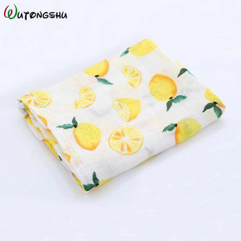 Wutongshu муслиновые одеяла для новорожденных аксессуары для фотографирования новорожденных Мягкая пеленка обертывание органический хлопок детское постельное белье банное полотенце